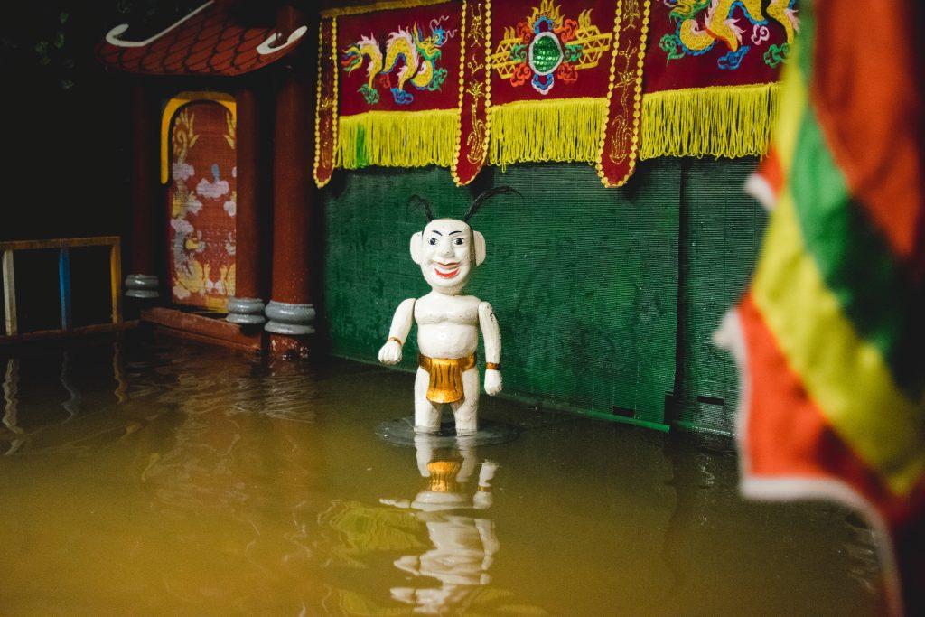 Chú Tễu – Linh hồn của múa rối nước Việt